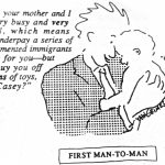 Cartoon – First Man To Man