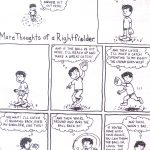 Cartoon – More Thoughts of a Rightfielder