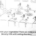 Cartoon – Getting Poor Children To Eat Their Vegetables