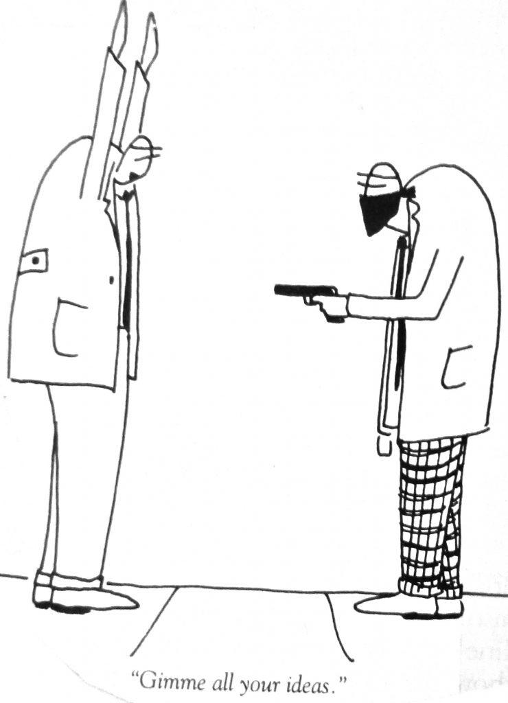 Cartoon Gimme All Your Ideas
