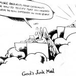 Cartoon – Gods Junk Mail