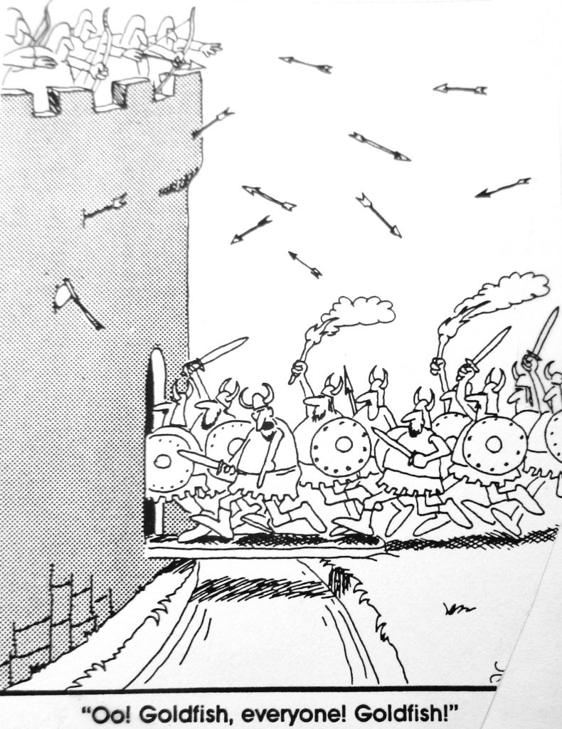 Cartoon Goldfish Everyone Goldfish