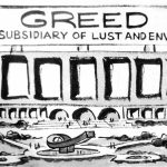 Cartoon – Greed