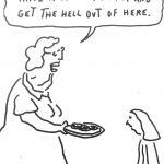 Cartoon – Visiting Grandma
