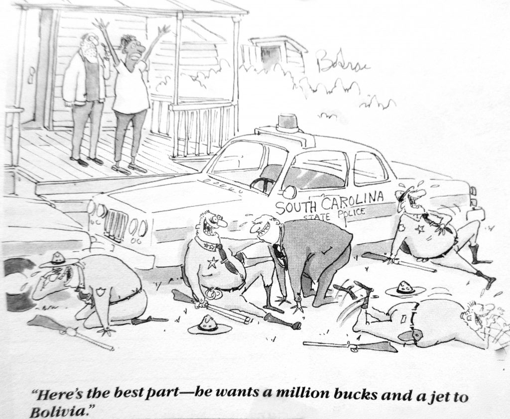 Cartoon Here The Best Part He Wants The Million Bucks And A Jet To
