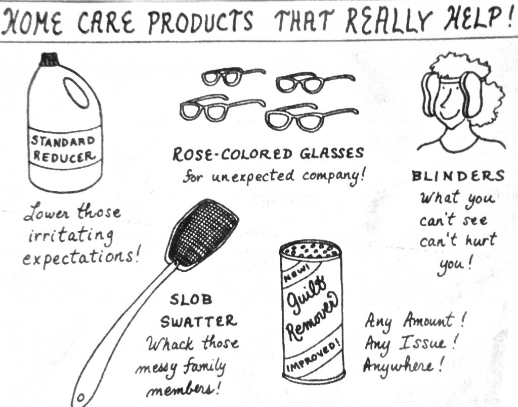 Cartoon Home Care Product That Really Help