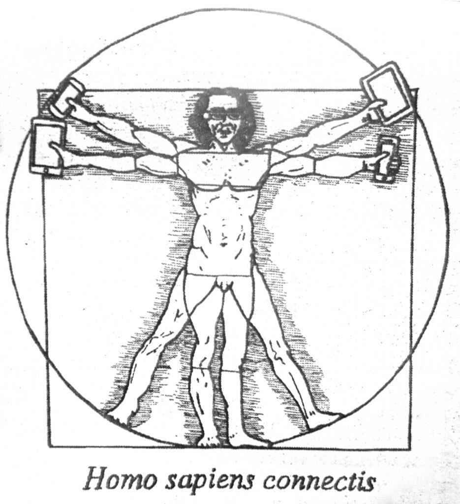Cartoon Homo Sapiens Connectis