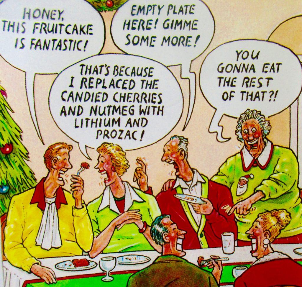 Cartoon Honey Is Fruitcake Is Fantastic