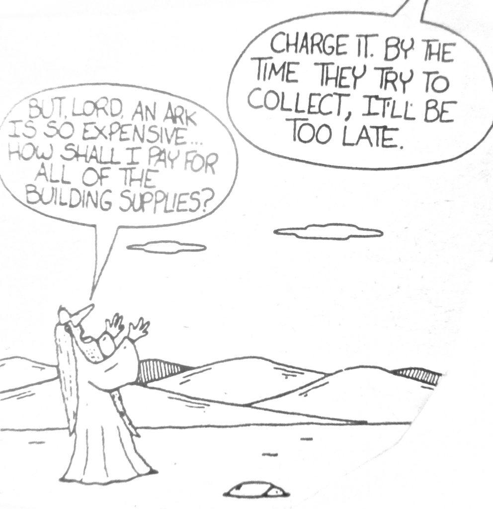 Cartoon How Noah Funded The Ark