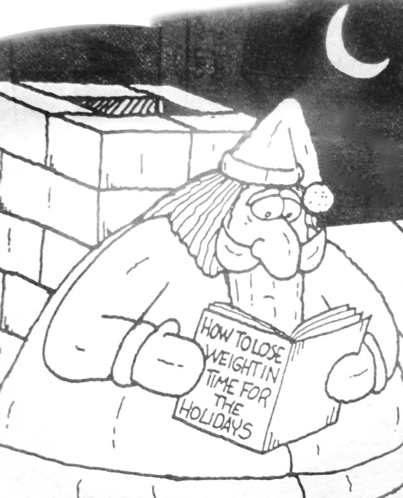 Cartoon How To Lose Weight In Time For The Holidays