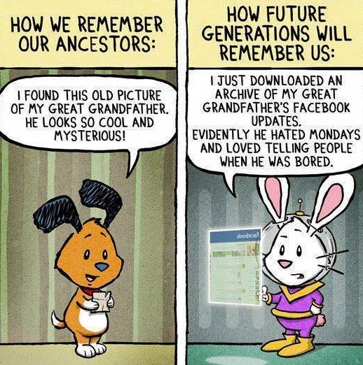 Cartoon How We Remember our Ancestors