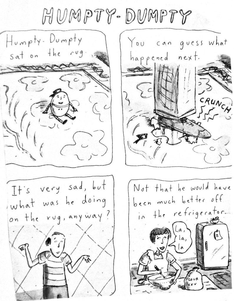 Cartoon Humpty Dumpty