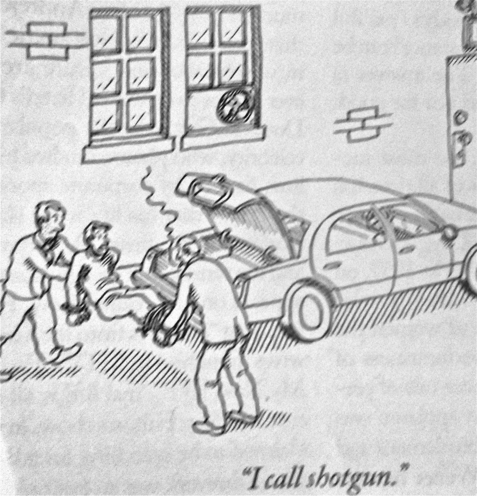 Cartoon I Call Shotgun