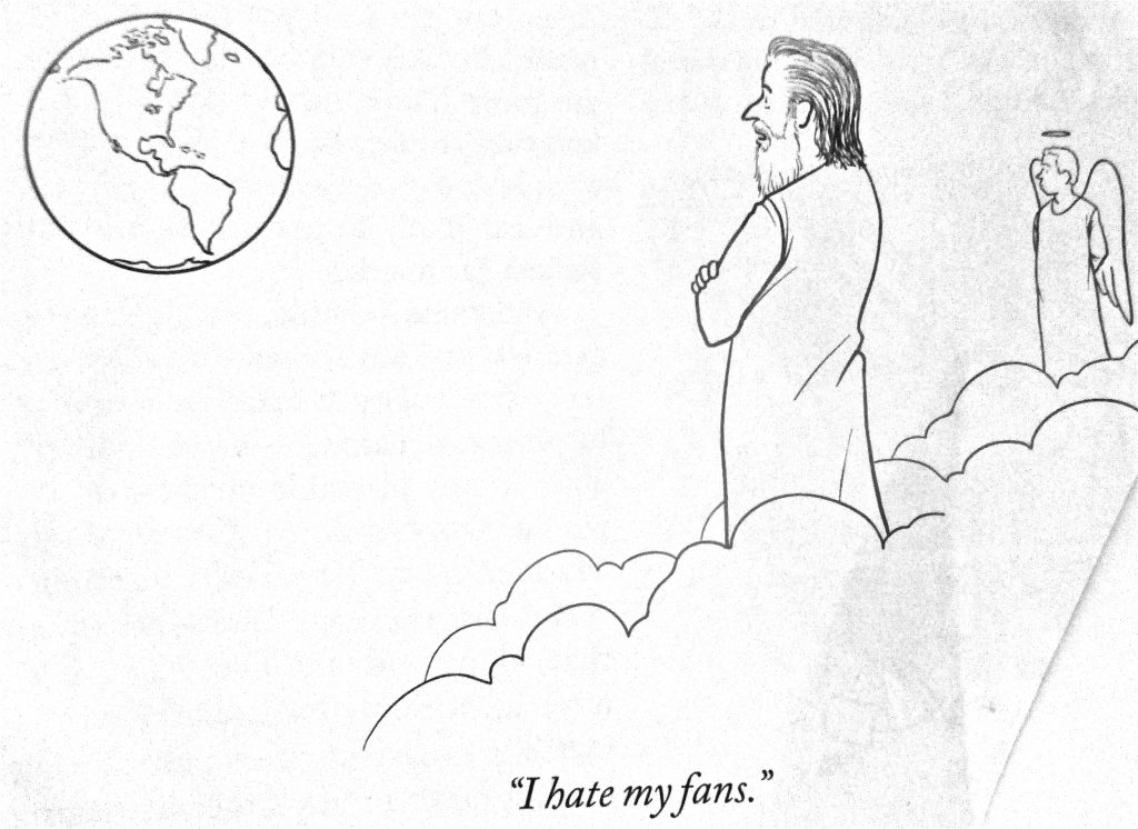 Cartoon I Hate My Fans