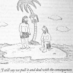Cartoon – Marooned