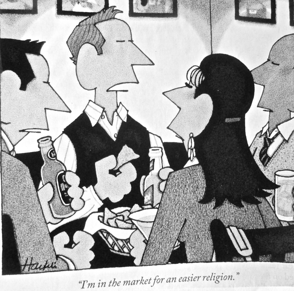 Cartoon I m In The Market For An Eaiser Religious