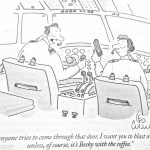 Cartoon – Post 911 Pilot Paranoia