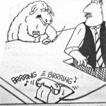Cartoon – If That's Little Bo Peep I Am Not Here