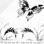 Cartoon – Butterfly Envy