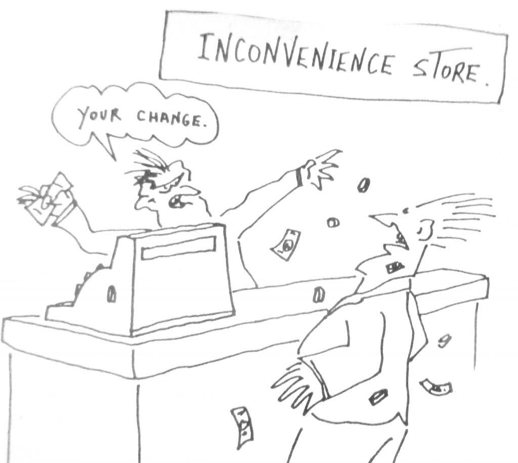 Cartoon Inconnvenience Story Your Chanle