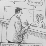 Cartoon – Interest Free Checking