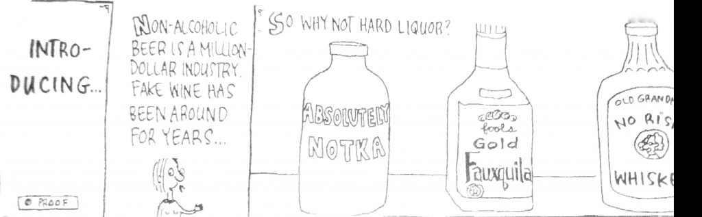 Cartoon Introducing So Why Not Hard Liquid