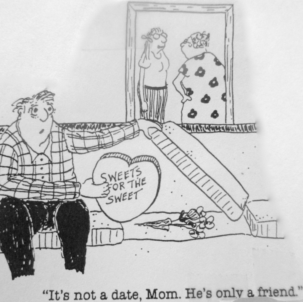 Cartoon Its Not A Data Mom Hes Only A Friend