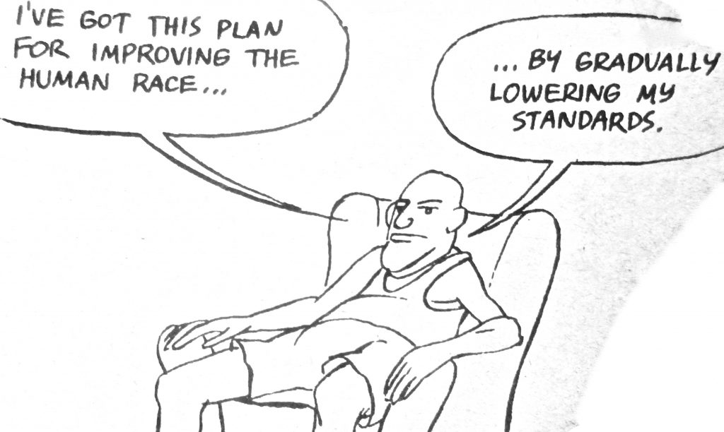 Cartoon Ive Got This Plan For Improving The Human Race