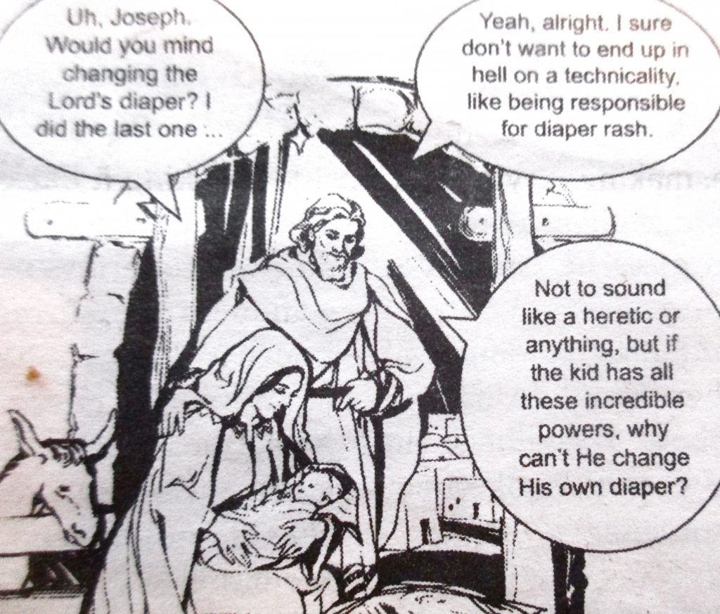Cartoon Joseph Would You Mind Changing The Lord