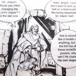 Cartoon – Mary and Joseph on parenting