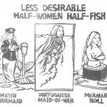 Cartoon – Less Desirable Half Women Half Fish