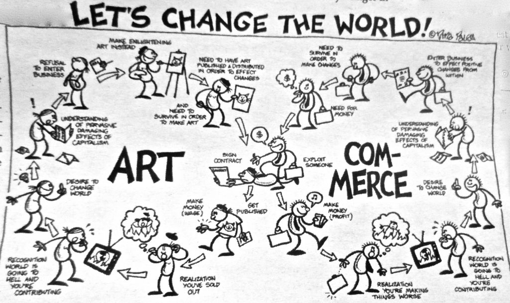 Cartoon Lets Change The World