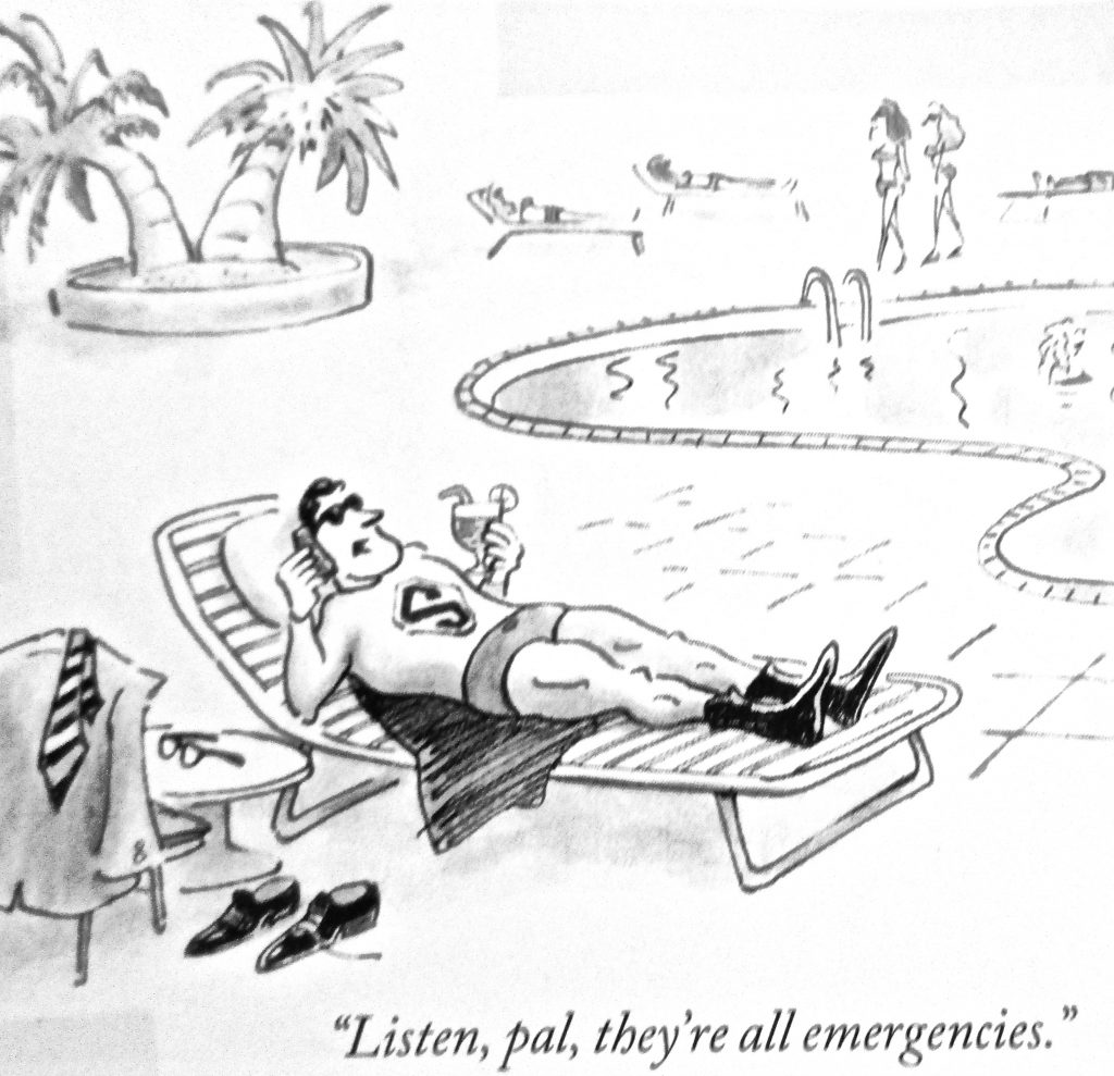 Cartoon ListenPal They Re All Emergencies