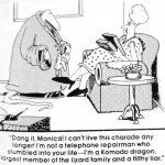 Cartoon – Lizard People