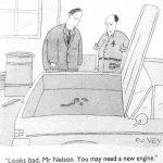 Cartoon – Car Troubles