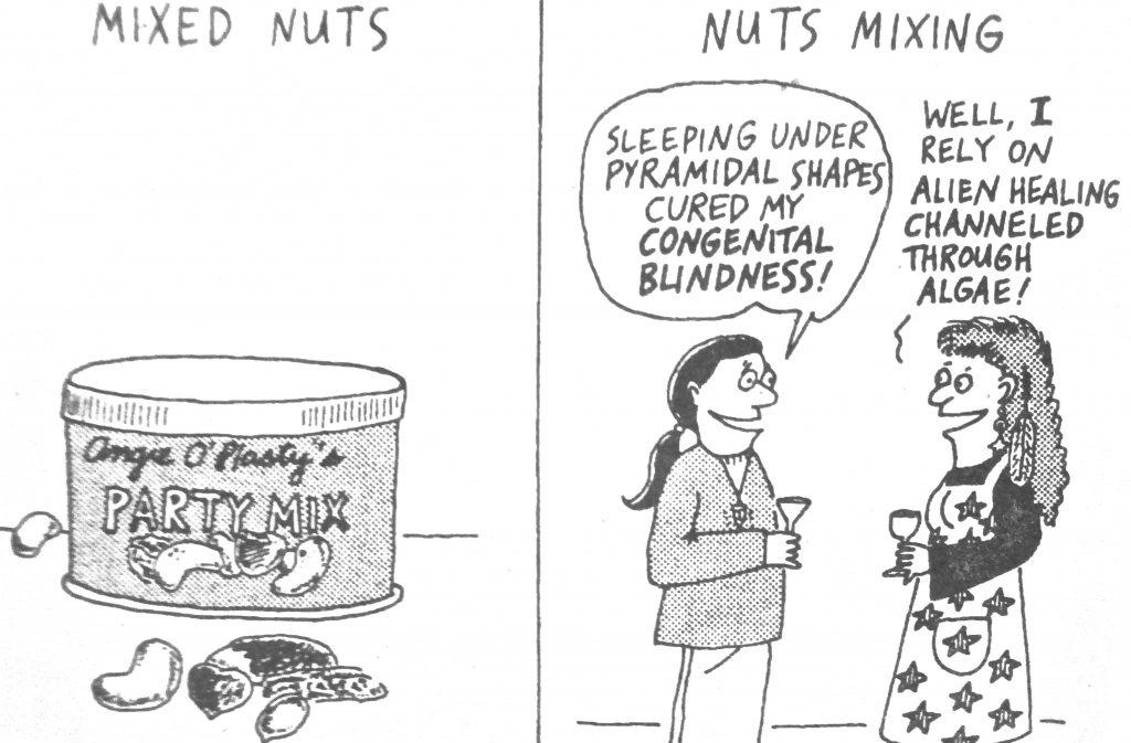 Cartoon Mixed Nuts Nuts Mixing