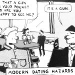 Cartoon – Modern Dating Hazards