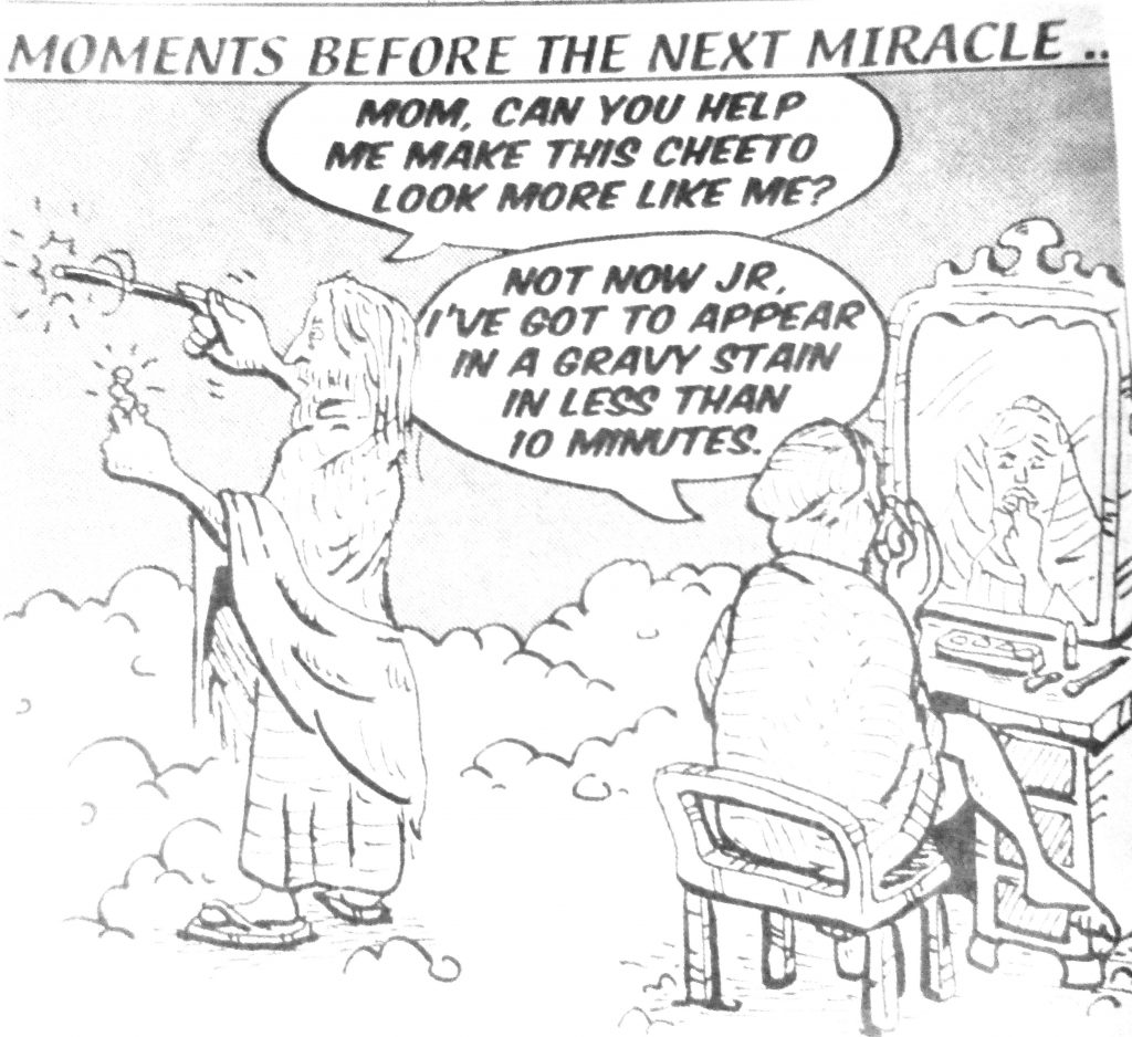 Cartoon Moments Before The Next Miracle