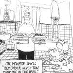 Cartoon – Explosive Medical Advice