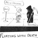 Cartoon – Flirting With Death