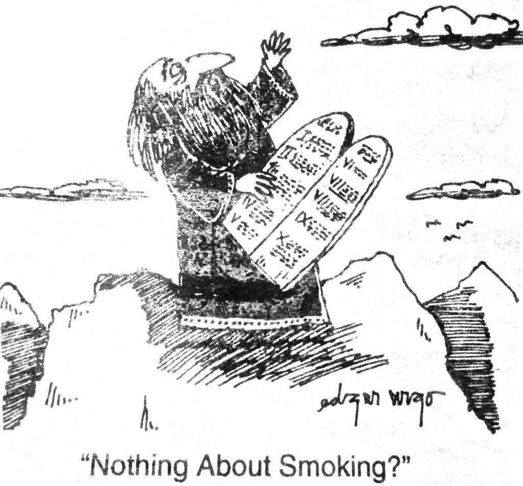 Cartoon Nothing About Smoking