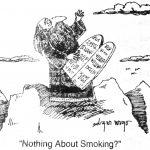 Cartoon – Nothing About Smoking