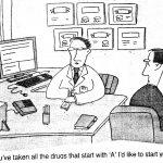 Cartoon – Pill Pushing Doctors