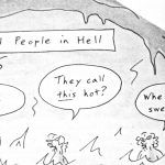 Cartoon – Old People In Hall
