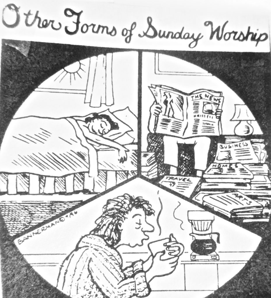 Cartoon Other Foums Of Sunday Worship
