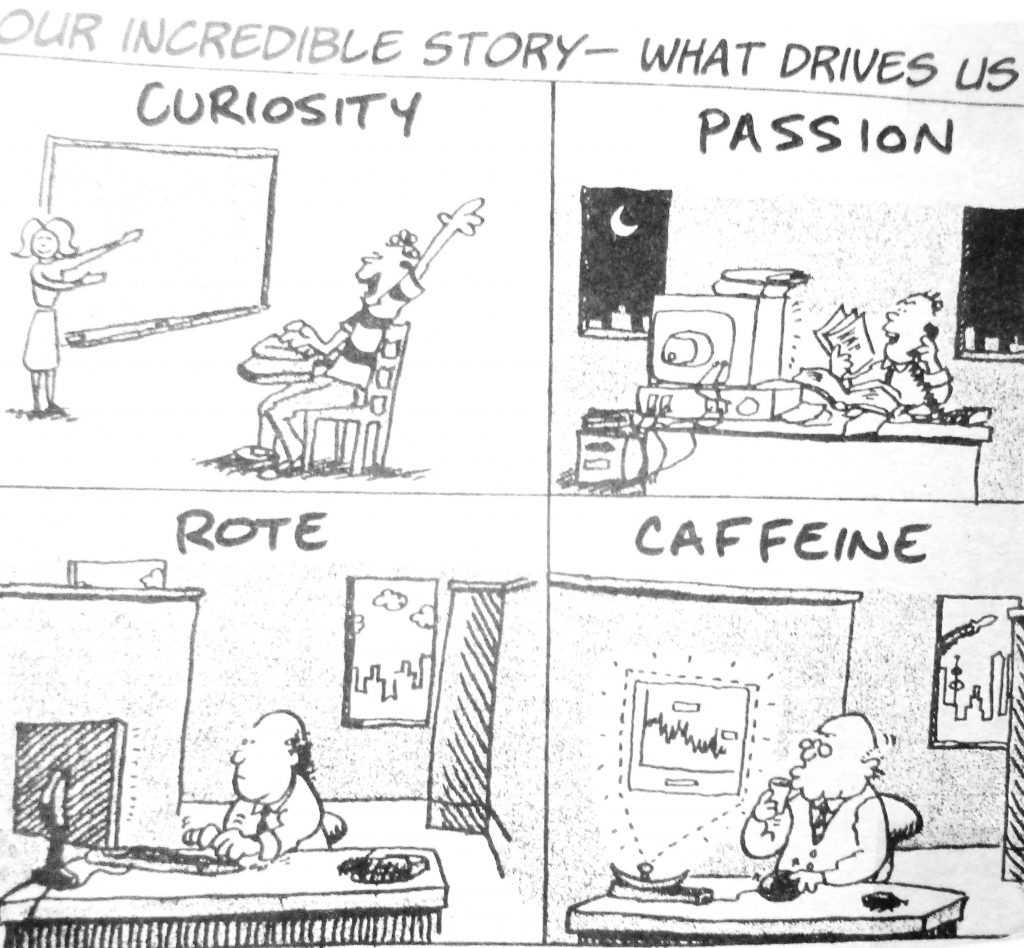 Cartoon Our Incrediable Stroy What Drives Us