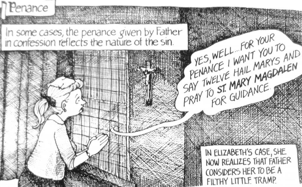 Cartoon Penance