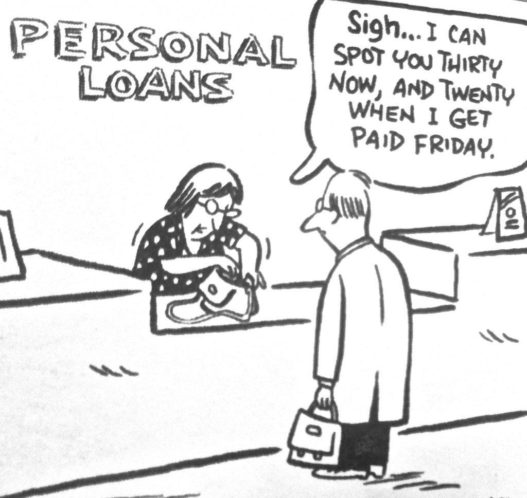 Cartoon Personal Loans