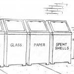 Cartoon – Recycling in Texas