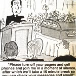Cartoon – Connected Funeral